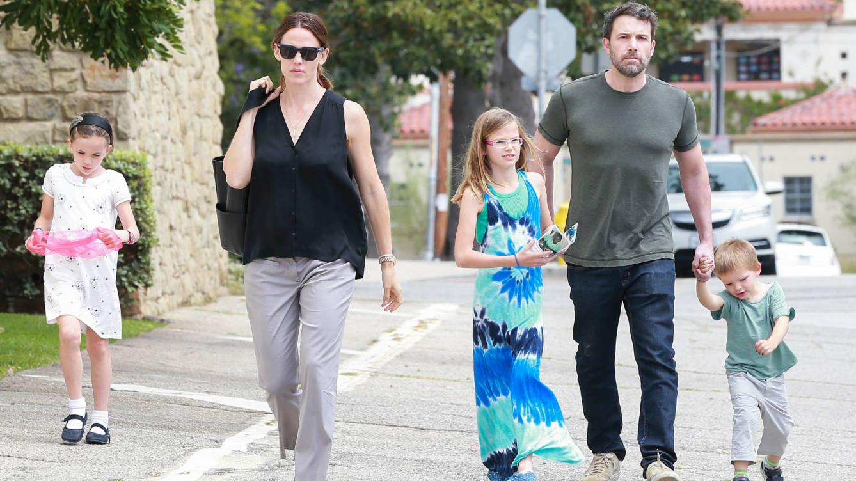 Ben Affleck y Jennifer Garner se toman el divorcio con calma