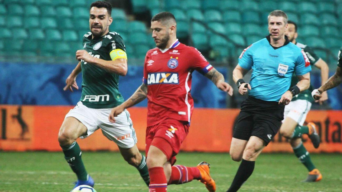 Palmeiras recebe o Bahia por vaga na semifinal