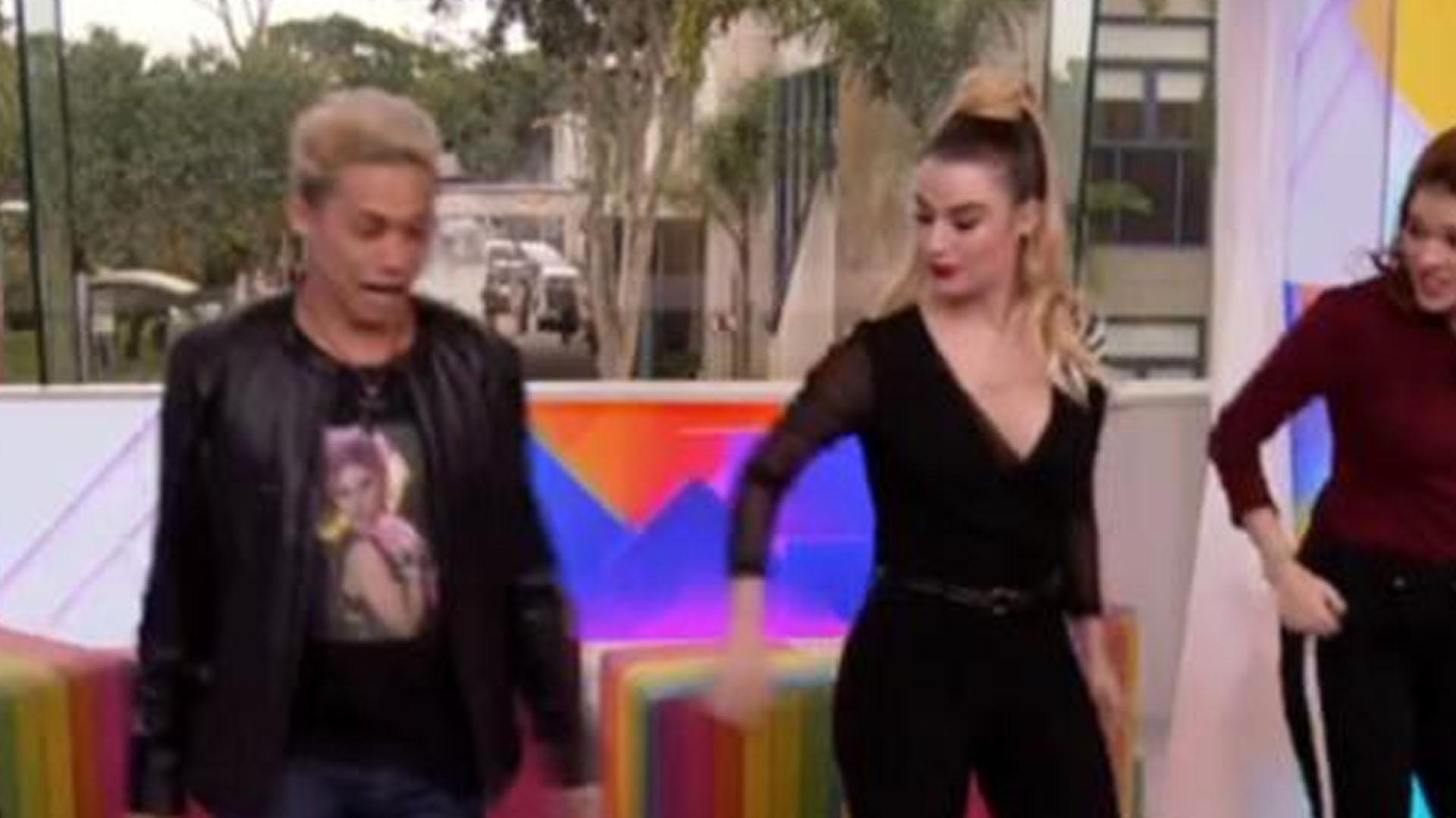 Silvero Pereira faz coreografia de Madonna em homenagem aos 60 anos da cantora