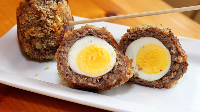 Recipe for simple Scotch eggs and variations