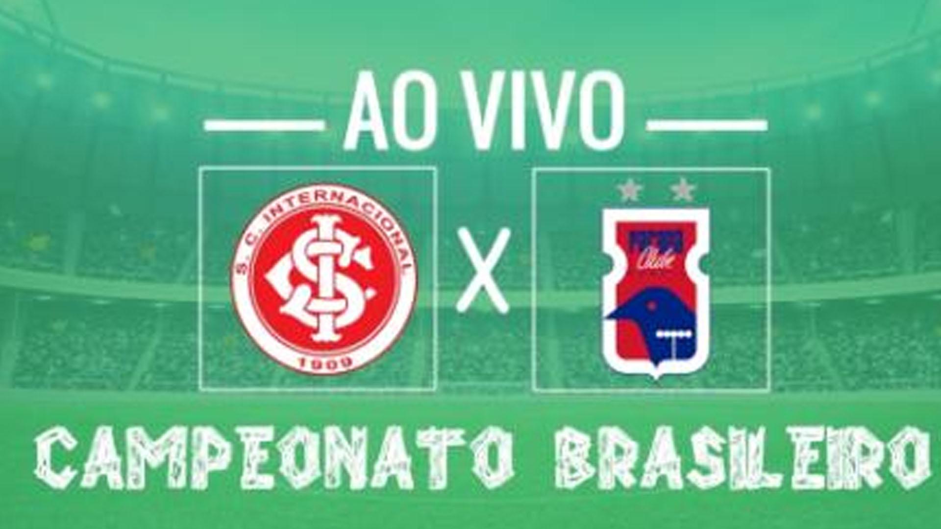 Inter x Paraná: transmissão do jogo ao vivo no domingo