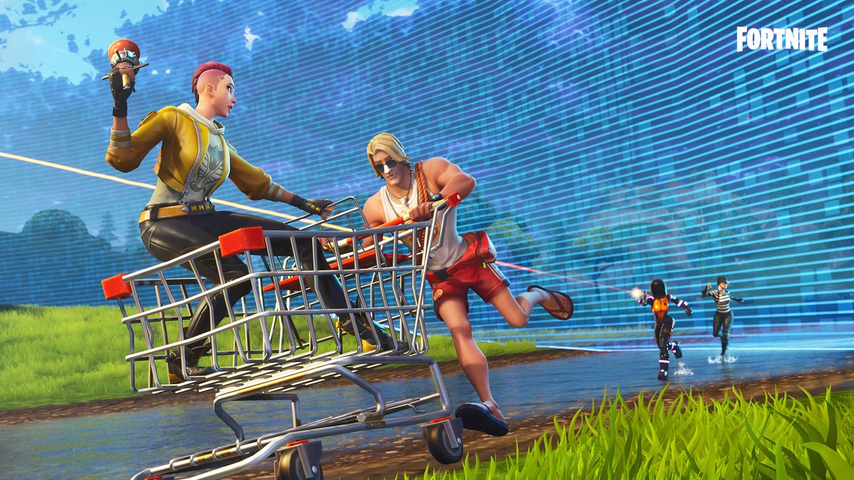 Fortnite is getting a map change on August 19