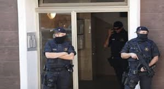 Vídeo: Abatido presunto terrorista en Cornellà