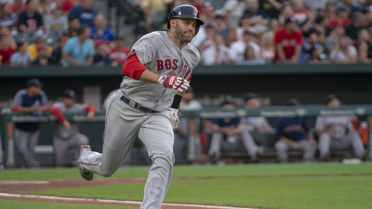 Boston's J.D. Martinez close to achieving Triple Crown for MLB season