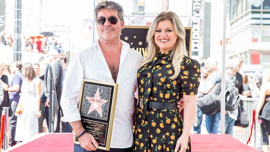 Simon Cowell receives a star on the Hollywood Walk of Fame