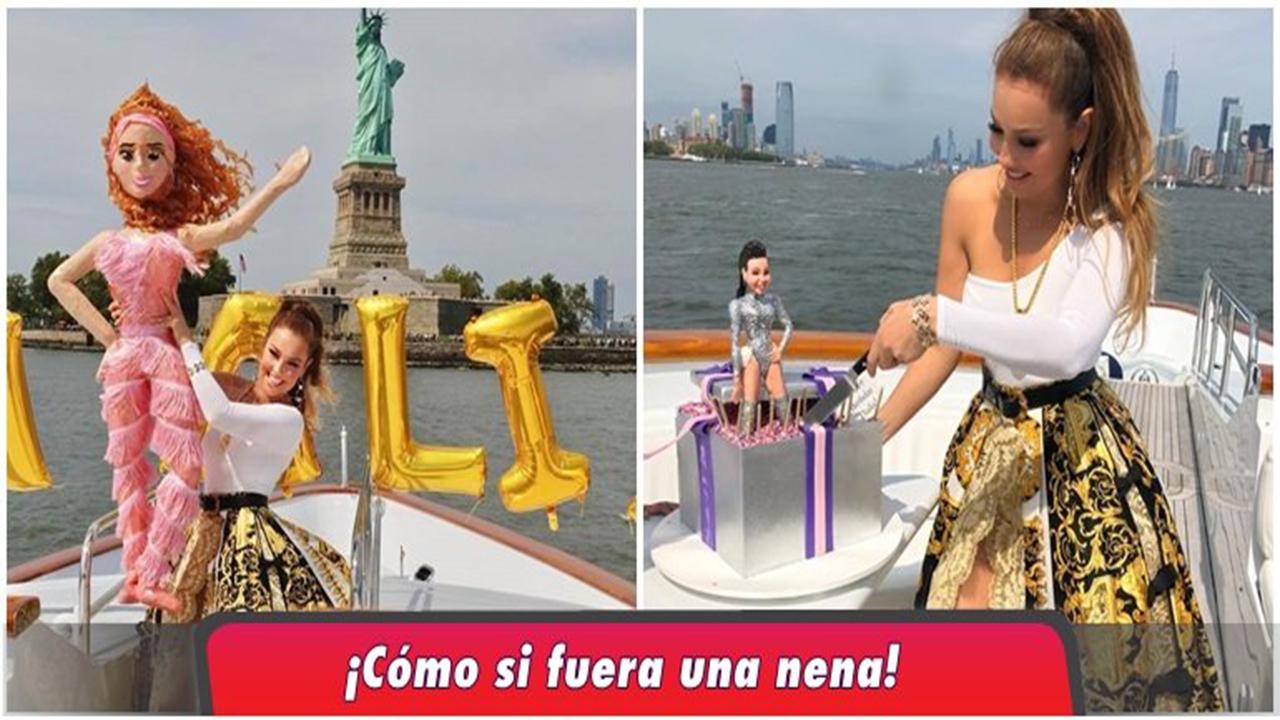 La cantante mexicana Thalía celebra su cumpleaños y el triunfo en el reggaeton