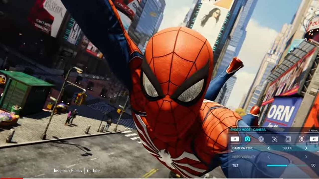 Spider-Man PS4: New trailer shows interactive Photo Mode