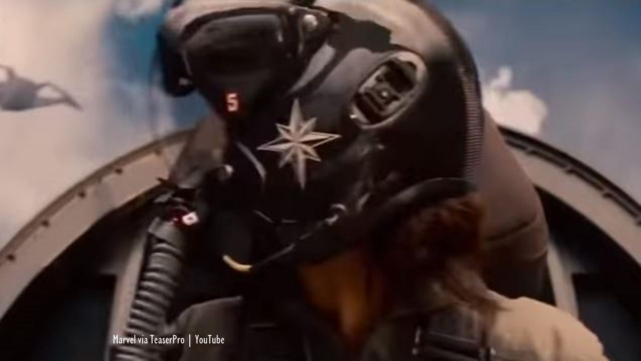 Captain Marvel spoilers note Carol Danvers already has her powers