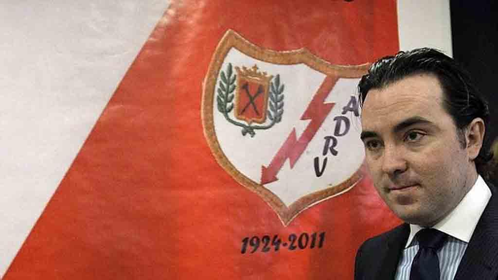 Raúl Martín Presa Raúl explica los problemas que vive el club de Vallecas