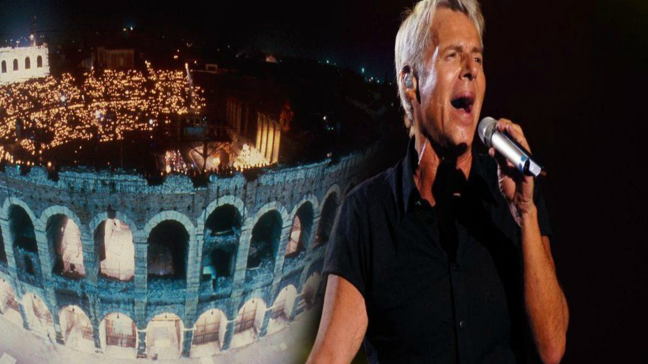 Claudio Baglioni: Concerto all'Arena di Verona per i 50 anni di carriera