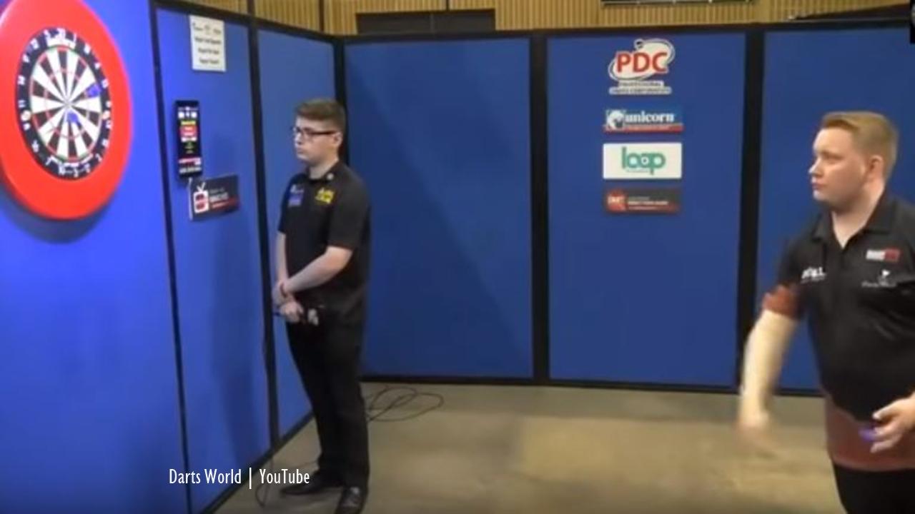 Darts: Martin Schindler beats Ron Meulenkamp in round one