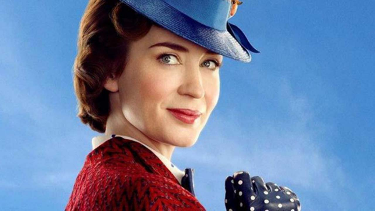 Mary Poppins Returns with Emily Blunt and a full-length trailer