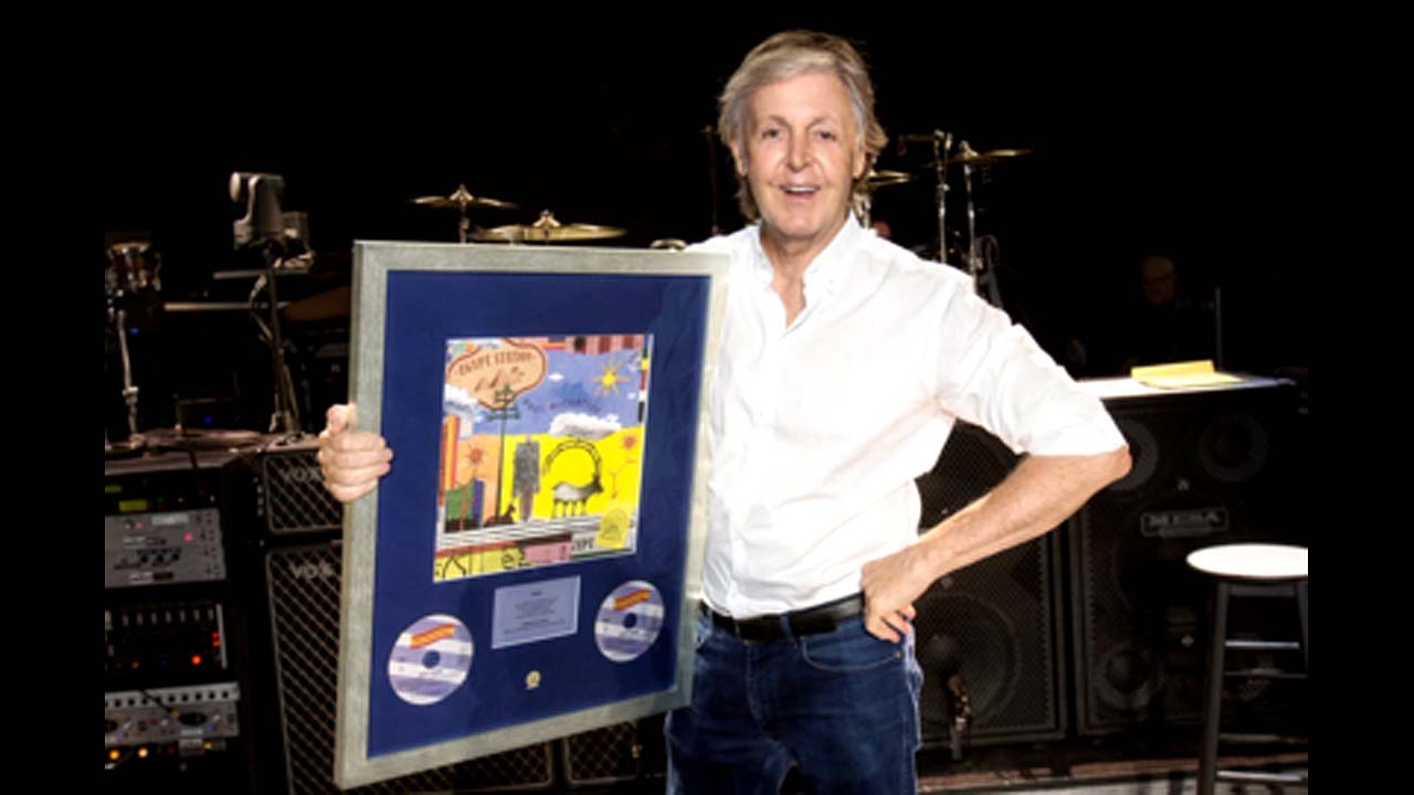 Paul McCartney's new album Egypt Station hits Billboard 200 No. 1