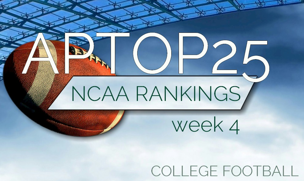College football is here and some teams are rising in the polls.
