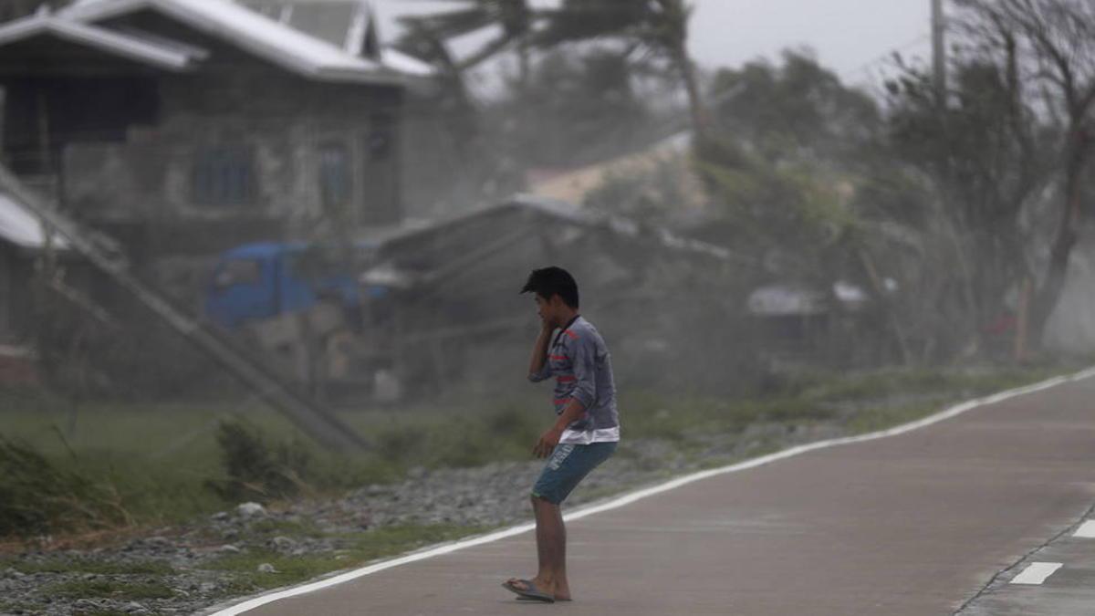 Aumentan a 64 los fallecidos por tifón Mangkhut en Filipinas