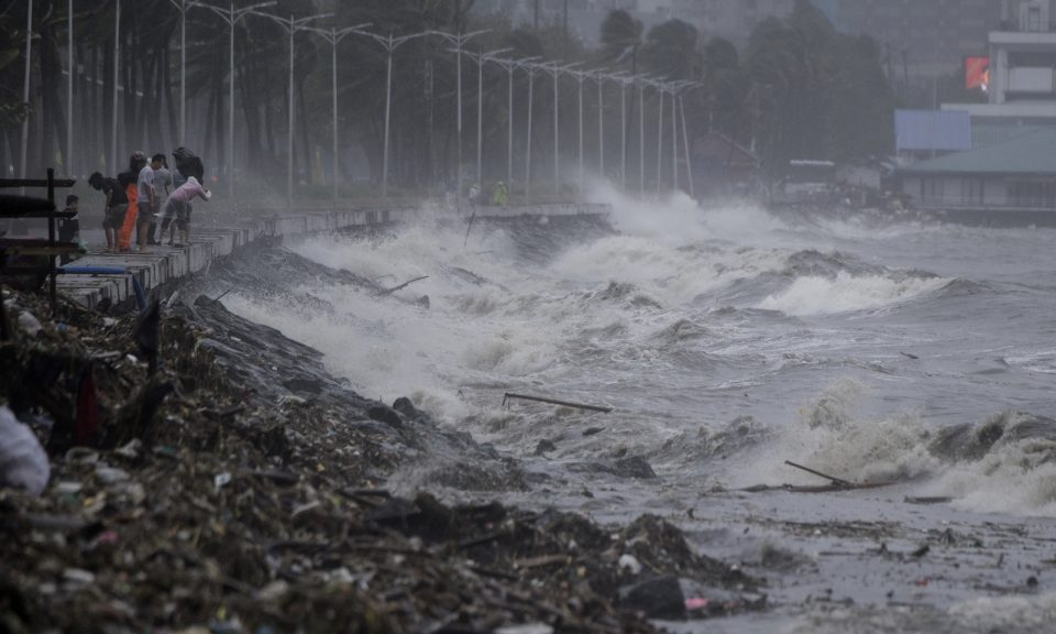 Latest typhoon forces closures in Hong Kong and Macau
