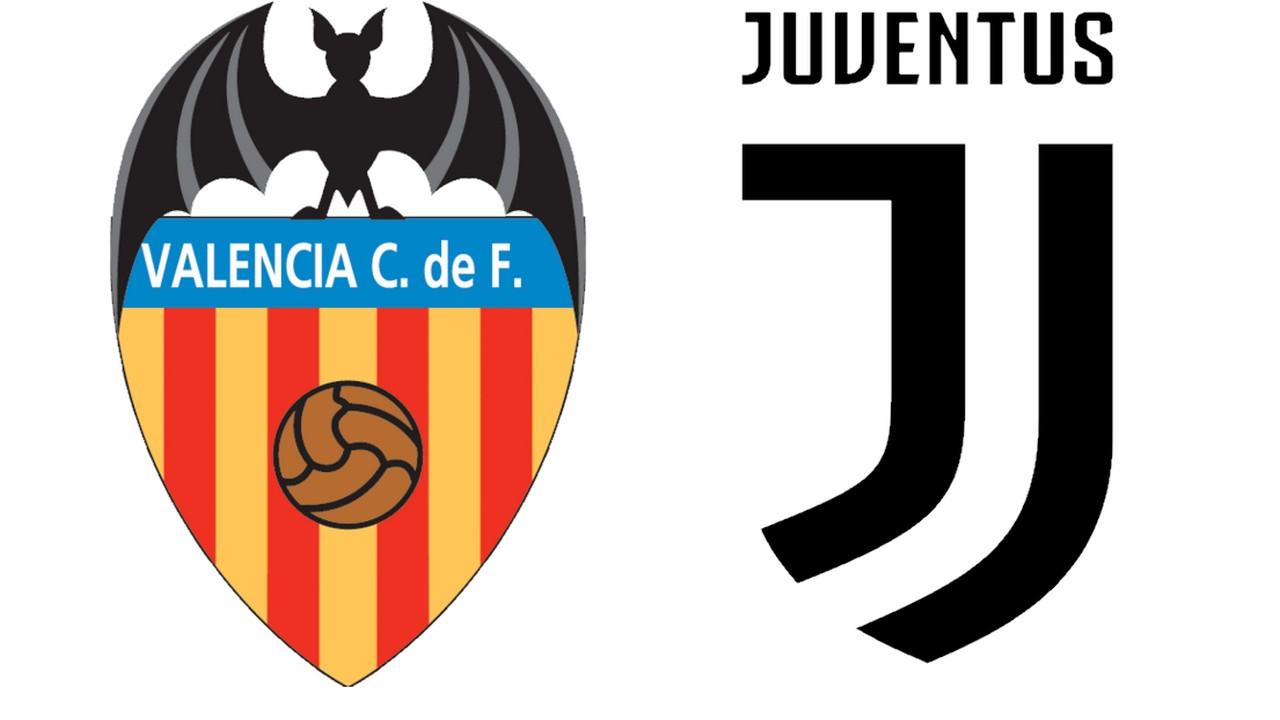 Diretta Valencia-Juventus su Sky Sport e in streaming su SkyGo mercoledì alle 21