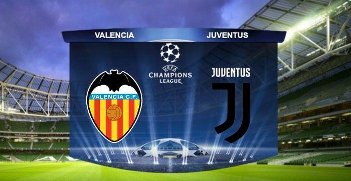 Valencia-Juventus in Diretta tv e Live-Streaming