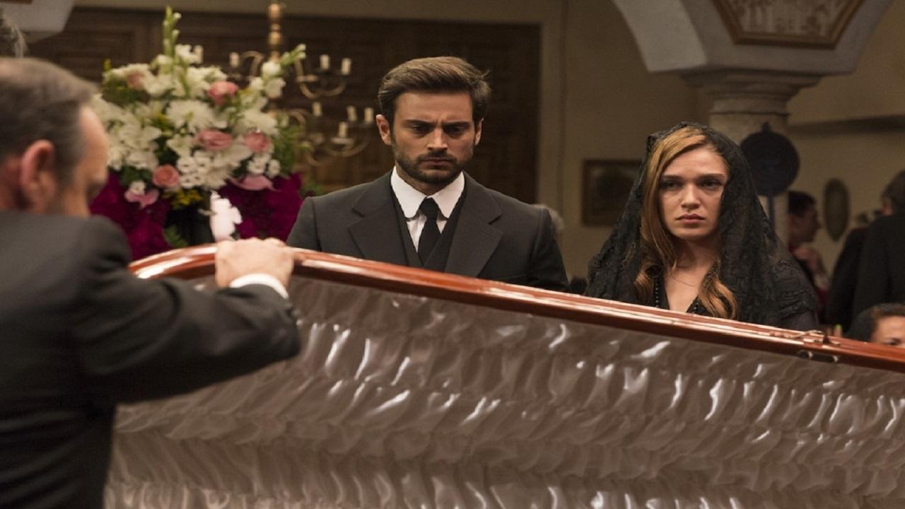 Il Segreto anticipazioni: Saul e Julieta vedono Francisca nella bara