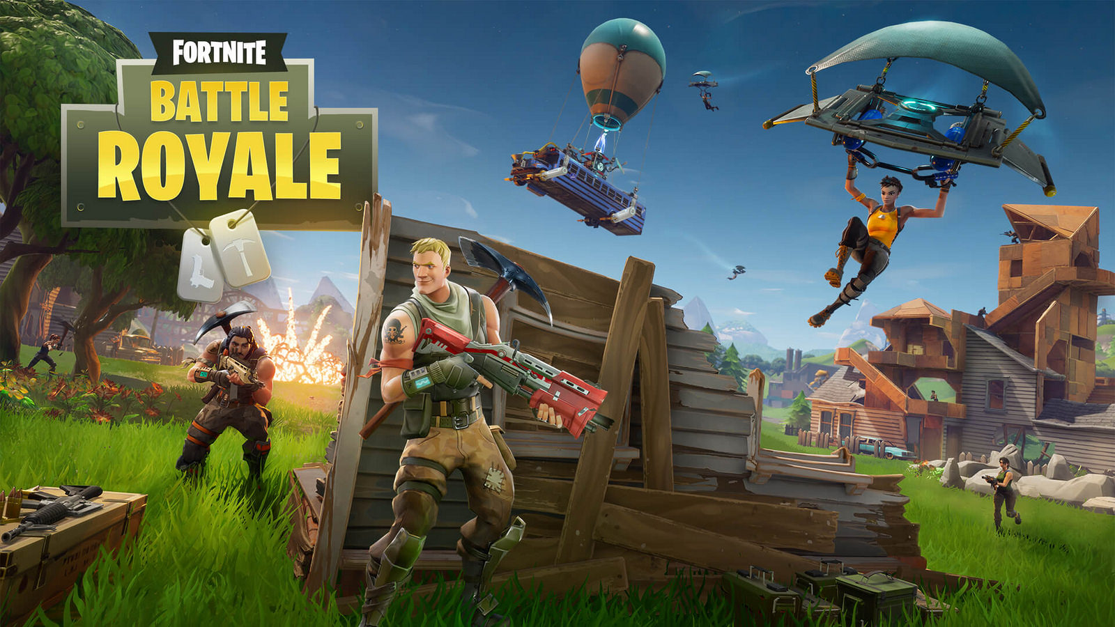 Fortnite is coming with a NIntendo Switch bundle