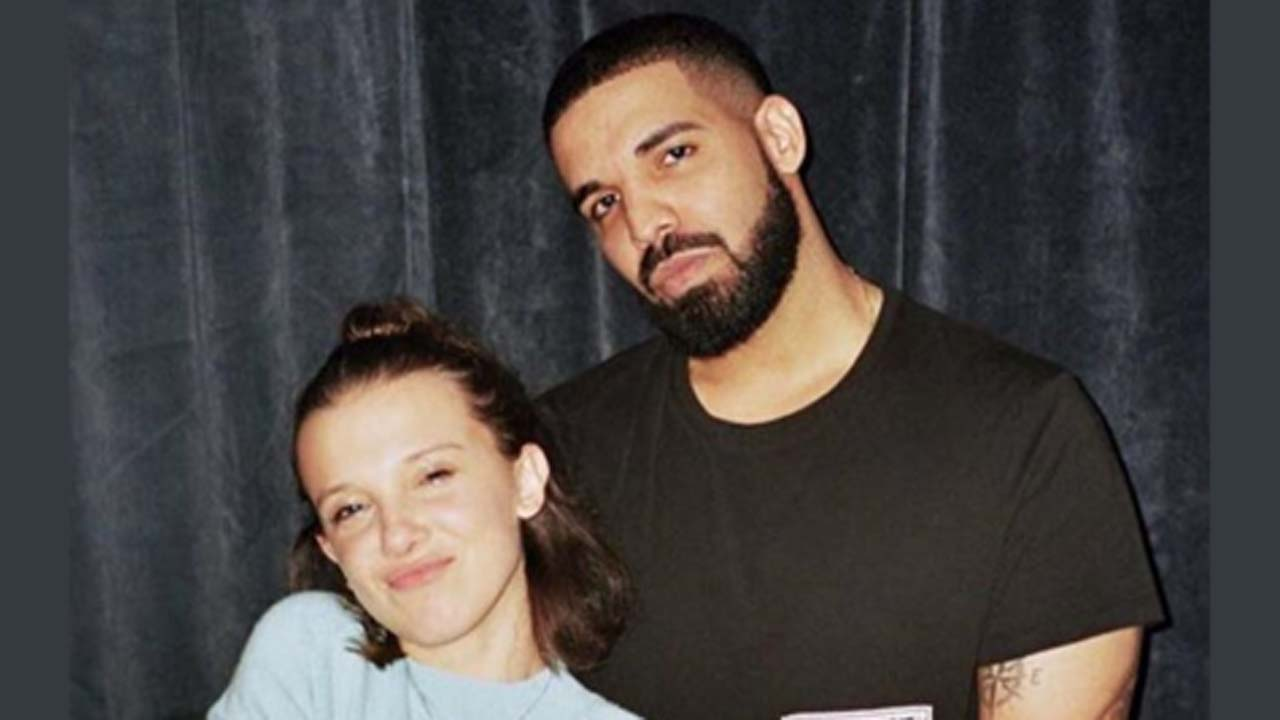Millie Bobby Brown of Stranger Things is friends with Drake