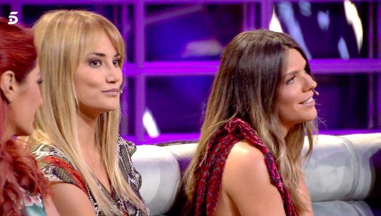 Laura Matamoros y Alba Carrillo se enfrentan en directo por sus opiniones
