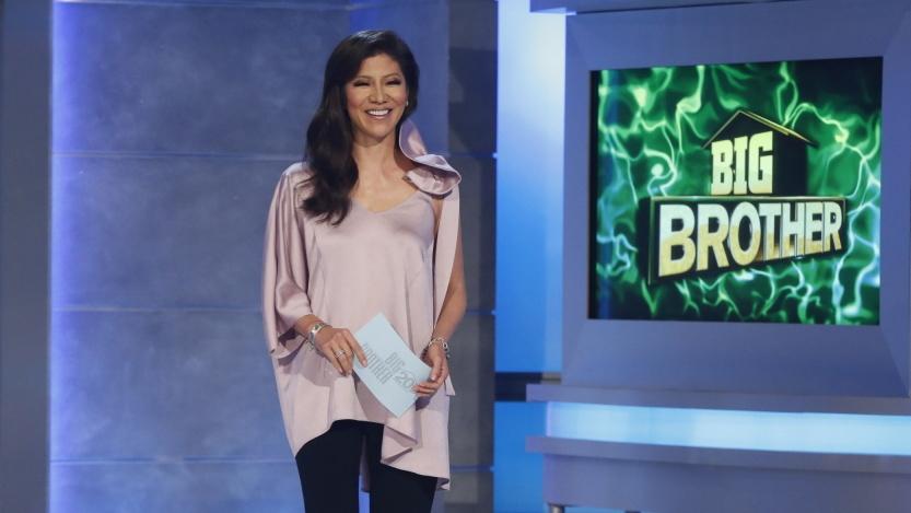 "Julie Chen walking away from ""The Talk"""