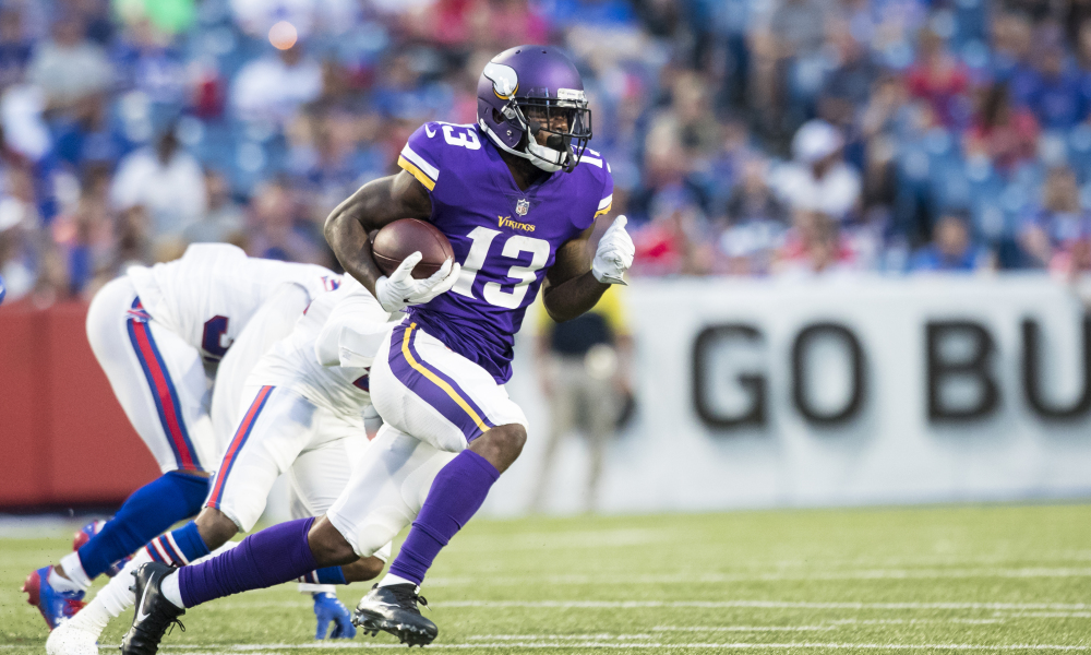 NY Giants make offensive move by claiming Vikings receiver Stacy Coley