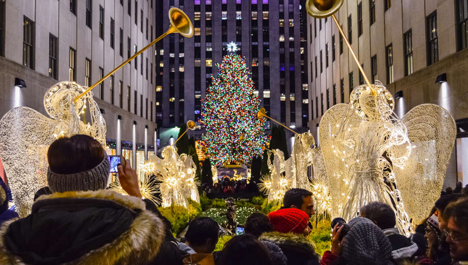 Plenty to do during the holiday season in New York City.