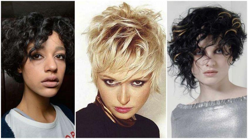 Foto taglio di capelli corti femminile