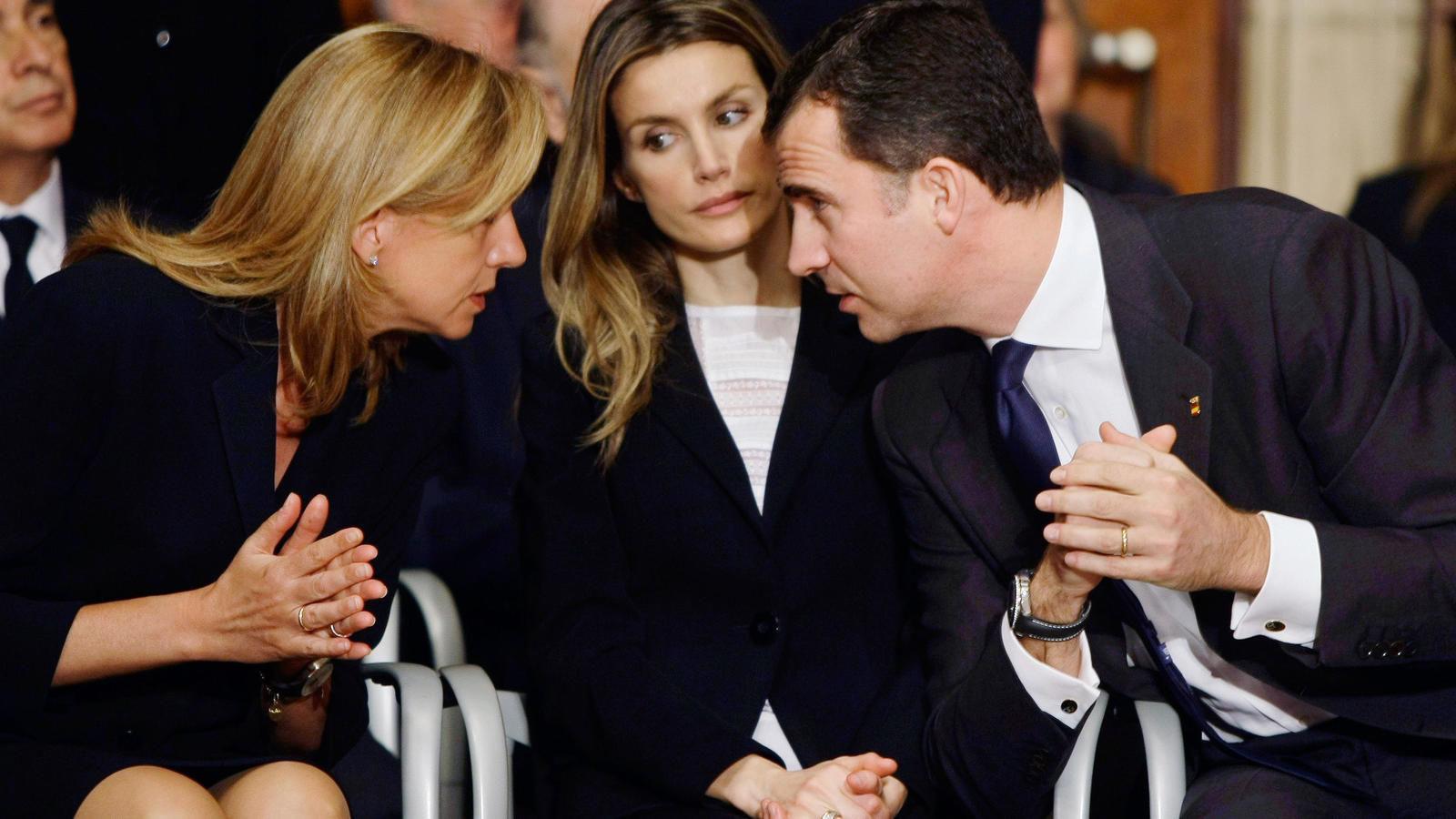La reina Letizia se enfadaría por encuentro de Felipe VI y la infanta Cristina