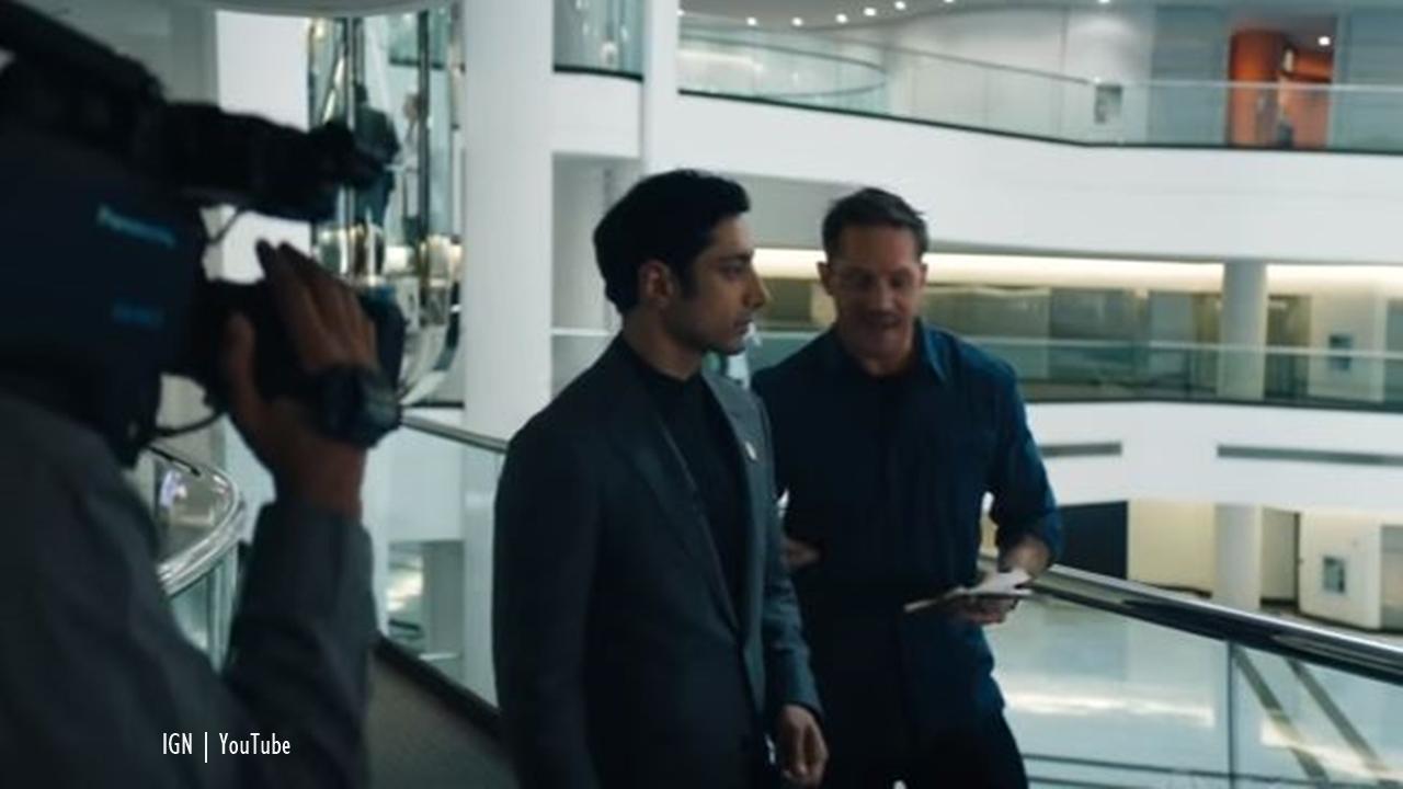 Venom Spoilers: IGN clip showcases Carlton Drake, Eddie Brock interview conflict