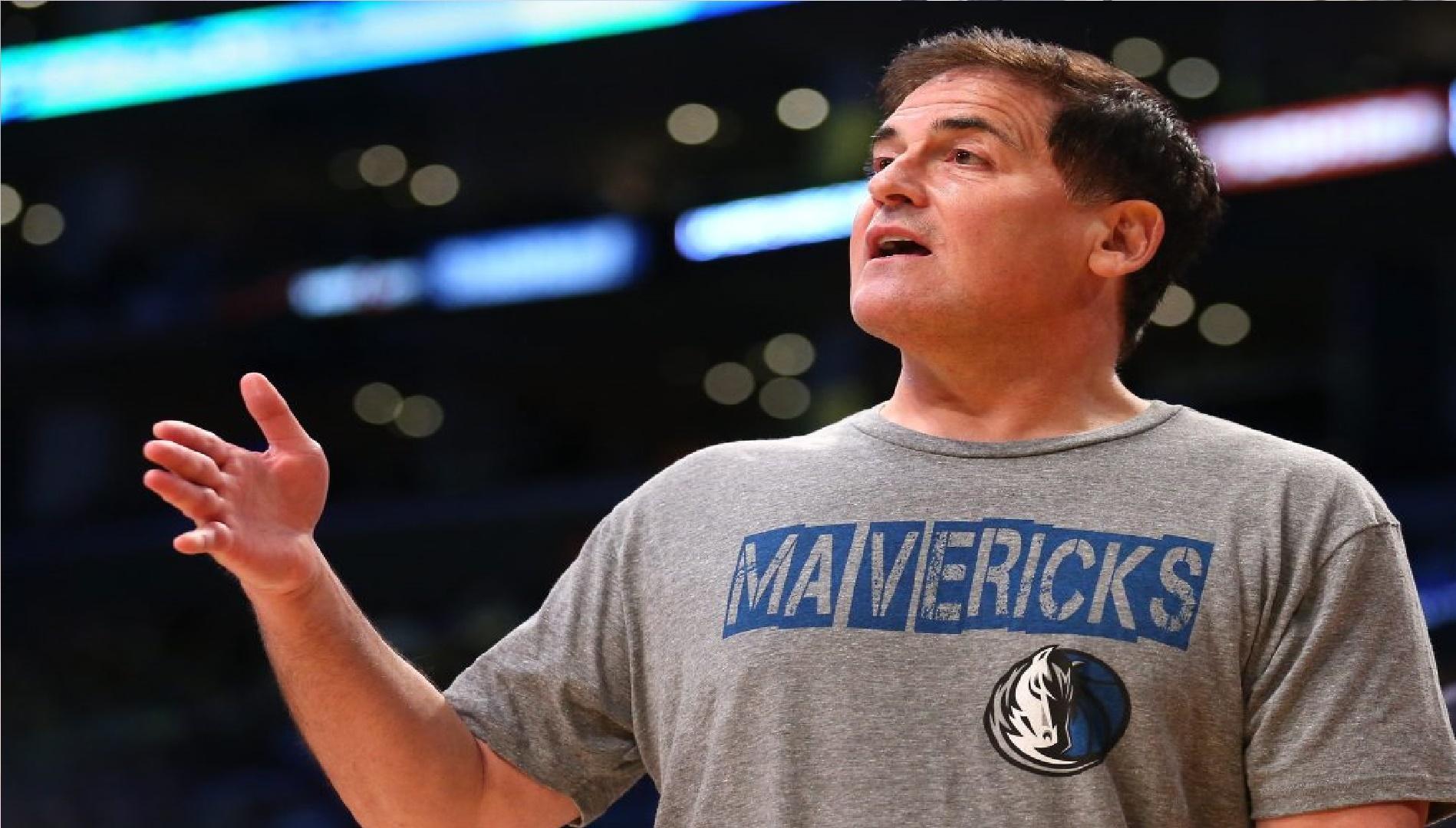 Mark Cuban dona 10 millones de dólares por conducta inapropiada en los Mavericks