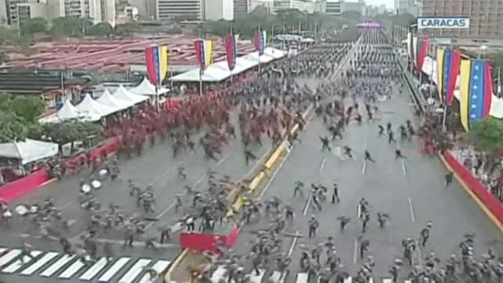 VÍDEO: Detienen a uno de los implicados en el intento de atentado contra Maduro