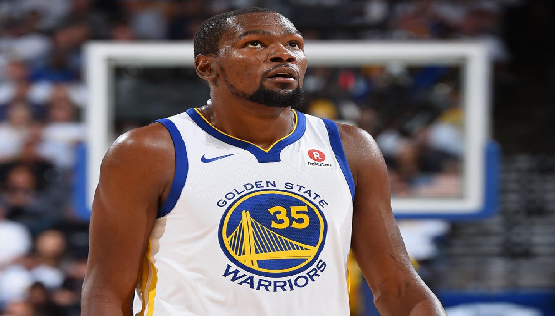 Los Warriors predicen la salida del jugador Kevin Durant el próximo verano