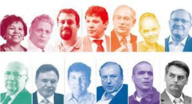 Em nova pesquisa, Jair Bolsonaro aparece com 35% e Haddad com 27%