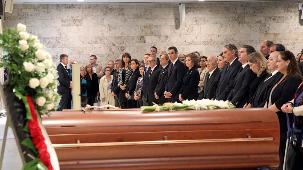 Fractura social en Cataluña en el funeral por Montserrat Caballé