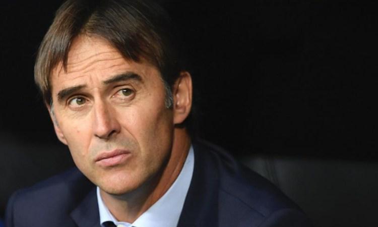 Lopetegui connaît une chute de popularité au Real Madrid