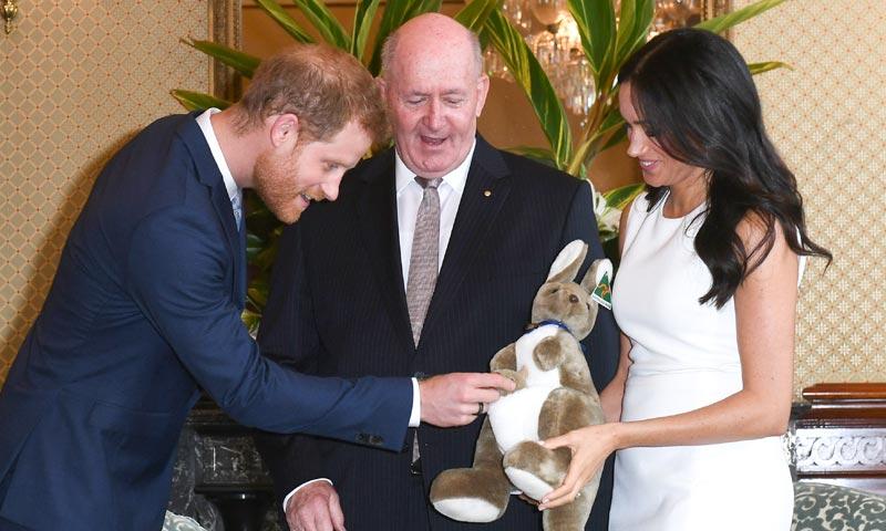 El bebé del príncipe Harry y Meghan Markle recibe su primer regalo en Australia