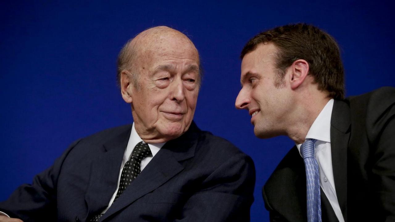 Valéry Giscard d'Estaing conseille à Macron ' de garder son calme '