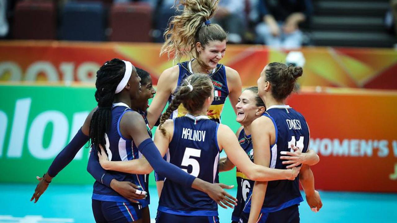 Mondiali Volley Femminile Domani Finale Italia Serbia In
