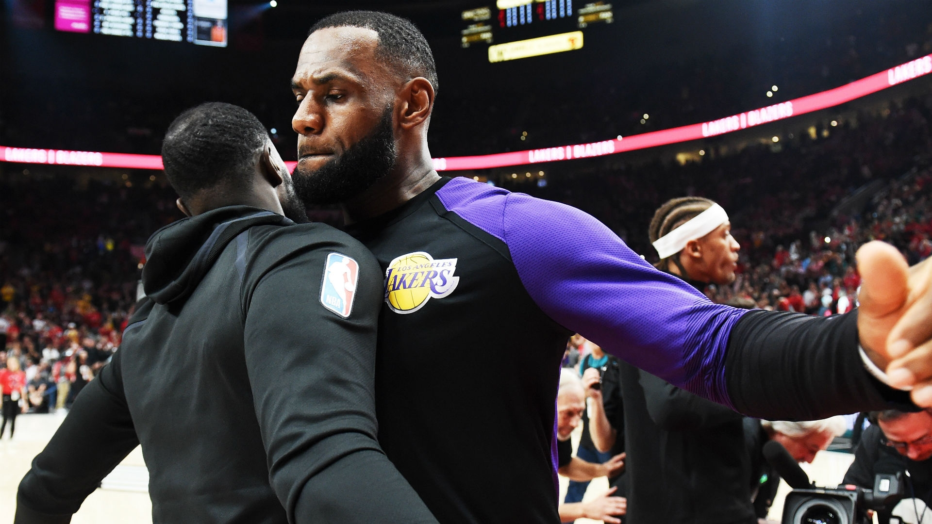 LeBron James has gone to Los Angeles for more than basketball
