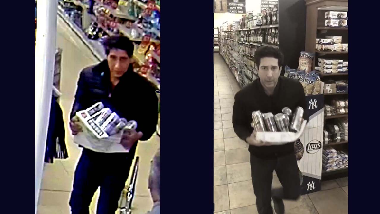 David Schwimmer responds hilariously to post about Blackpool lookalike thief