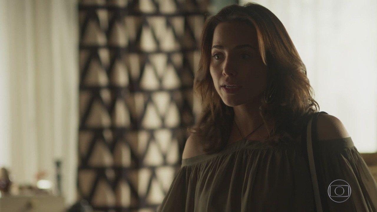 Rosa conta para Beto que Remy não morreu