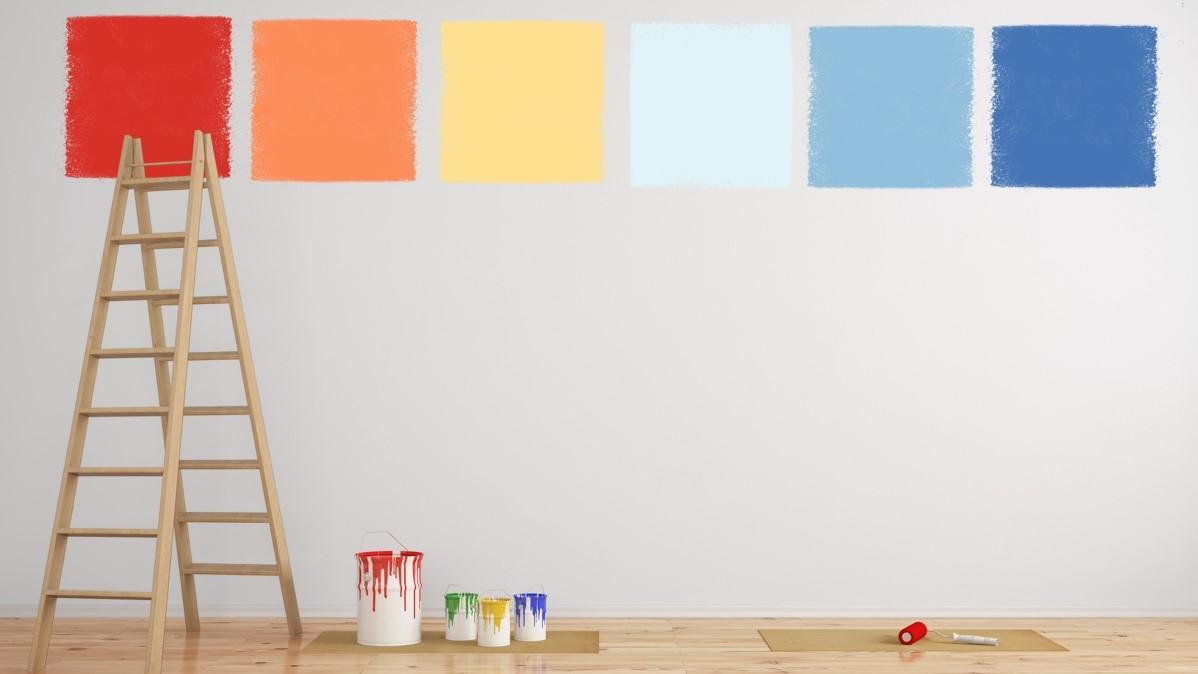 Idee per tinteggiare casa: blu o lavanda per camere da letto, giallo per  cucina