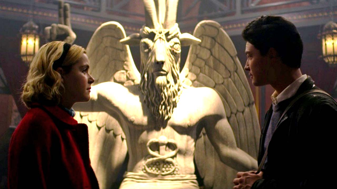 Netflix to be sued by Satanic Temple over copyright for Baphomet statue