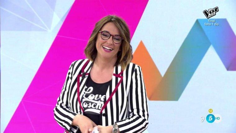 Toñi Moreno se estrena como sustituta de Emma García en MYHYV