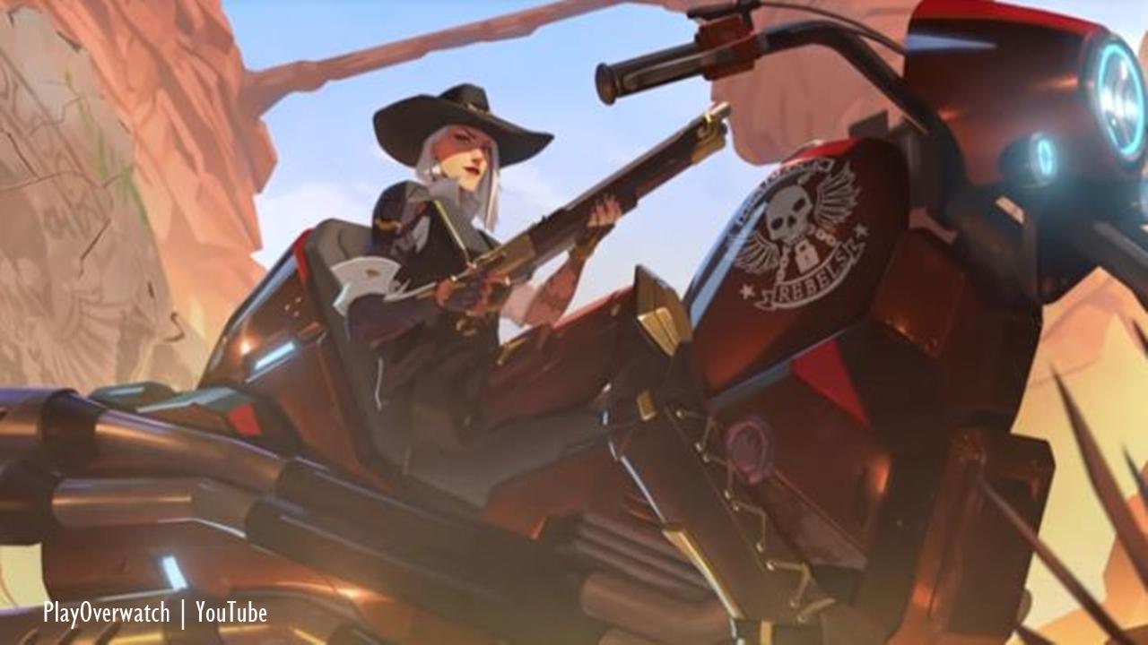 Overwatch: New origin trailer intrduces new hero Ashe
