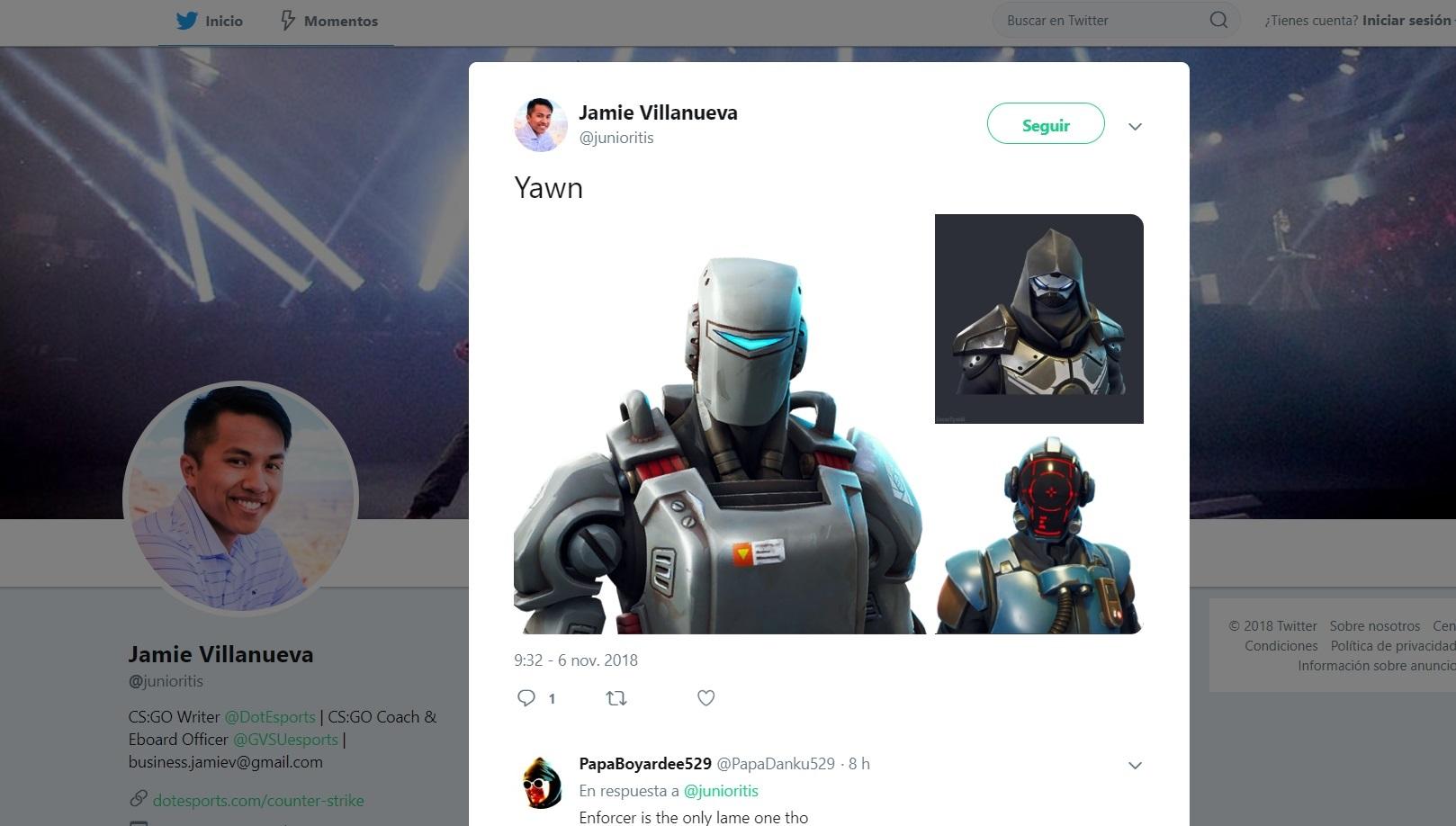 Fortnite: Dataminers leak Hunting Party skin called A.I.M.