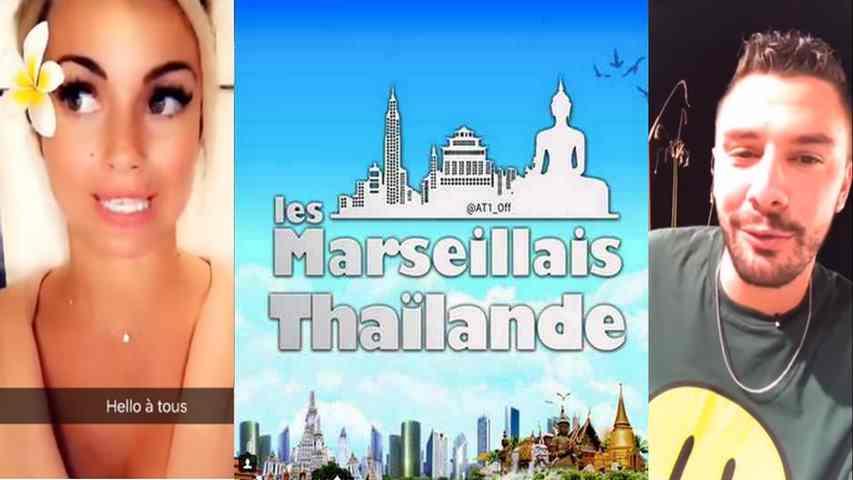 Carla et Kévin donnent des nouvelles des Marseillais en Thaïlande